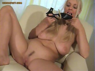 worship and sniffing of shoes and panties