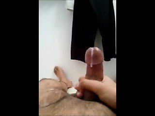 Small Cock, Nice Cumshot!
