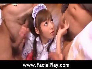 Facial Japanese Cumshots - Bukkake Now - video12