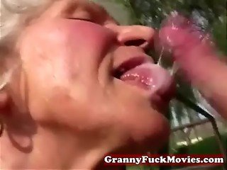 dirty grandma sucking
