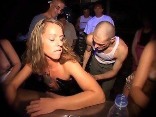 Silke Maiden, Salome & Dani Sun drink piss and enema in Berlin 1