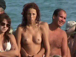 nudist at the beach