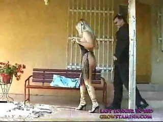 Sexy blond housewife knows to thank part1