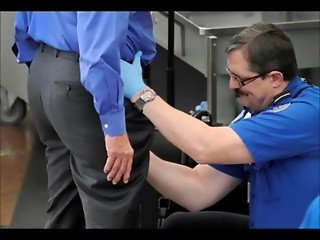 TSA airport security lady groped molested violated by security agent at airport
