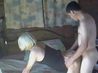 Blonde Milf Gets Doggystyle And Missionary Fucked