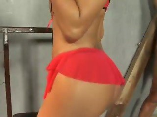Graziela Alves Loves Deep Throat And Gets Rear Fucked.