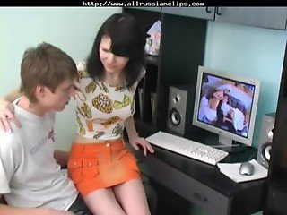 Russian Brother And Sister Watch Porn By Bizzy1991 russian cumshots swallow