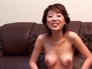 Asian sweetie gets perky hot tits teased