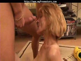 Slender Mature Gets Her Hairy Pussy Boned By Snahbrandy mature mature porn granny old cumshots cums