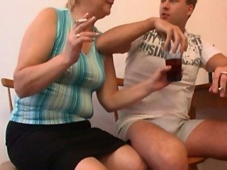 Drunk Russian Mom And Boy Fucking
