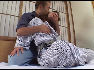avmost.com - Japanese babe in lace finger drilled with her panty on the side