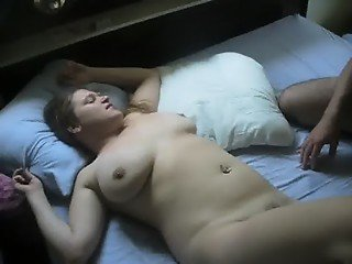 Amateur Wife 3some with Boyfriend & Husband Prt 2