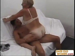 Big Ass German Granny Action
