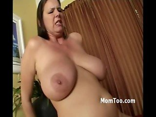 Busty mom and booty young daughter get together to fuck badass