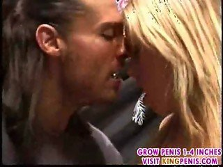 Busty blonde licked and screwed