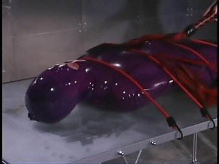 Sasha Monet Wrapped In Latex And Dominated BDSM-STORES.com