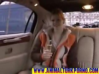 Slim fucks unknow for money in Limousine - haylazadam50.com