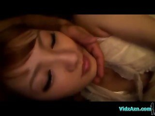 Asian Girl Sucking Guy Fucked Getting Facial In The Limousine