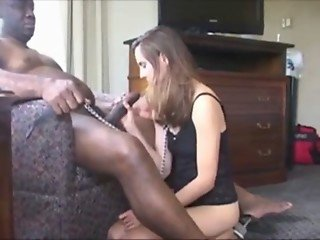 Milf Skylar in pantyhose - Black Cock part 2