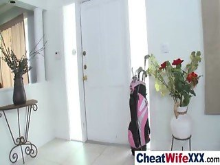 Adultery Housewife Get Banged Hard vid-17