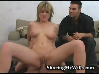 Wife's Pussy Is Crazy For New Cock