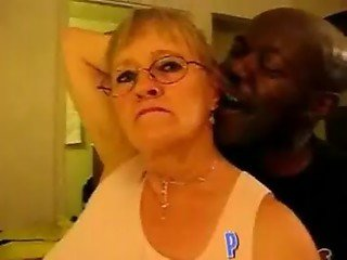 Amateur Homemade Granny and her Big Black Cock