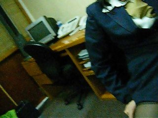 Girlfriend Masturbated at the office