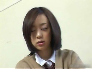 Cute asian schoolgirl upskirt video