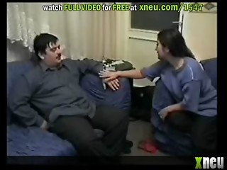 Lucky Turkish Guy Fucking Two Babes In Threesome