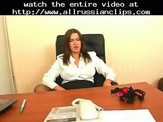 Sexy Russian Office Mature russian cumshots swallow