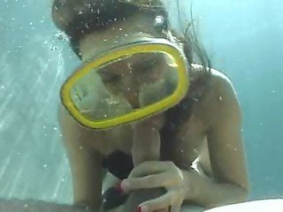 Underwater Scuba Sex Daisy Duxxe Part 2