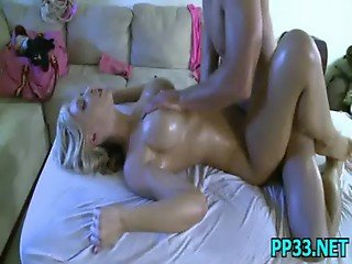 Sweet pretty babe meeting the monster cock