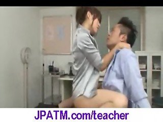 Nasty Japanese Teachers Banged In Classroom - vid 12