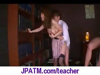 Nasty Japanese Teachers Banged In Classroom - vid 28