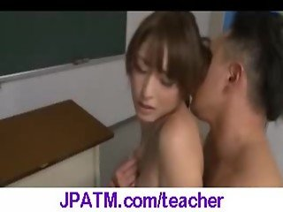 Nasty Japanese Teachers Banged In Classroom - vid 08