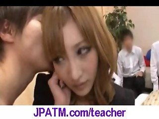 Nasty Japanese Teachers Banged In Classroom - vid 11