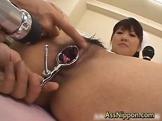 Gyno Exam Pussy Opened Wide Asian Porn