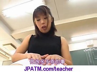 Nasty Japanese Teachers Banged In Classroom - vid 25
