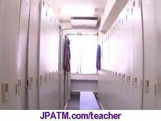 Nasty Japanese Teachers Banged In Classroom - vid 27