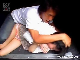 Asian tied slave gets sexually abused