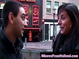 horny sex tourist with Amsterdam prostitute