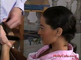 Anal with hot latin maid Paola