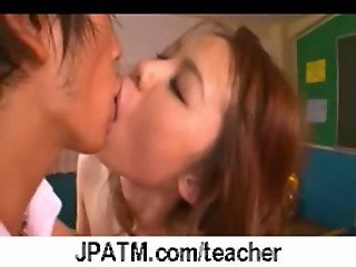 Nasty Japanese Teachers Banged In Classroom - vid 30