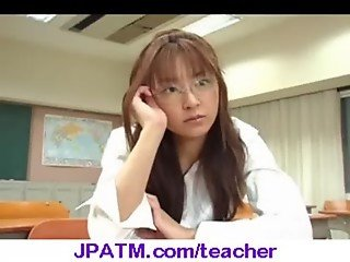 Nasty Japanese Teachers Banged In Classroom - vid 09