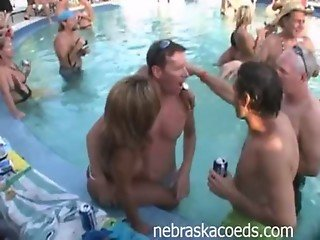 Naked Pool Party Behind the Scenes