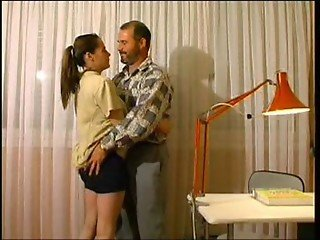 studying daughter fucked by dad