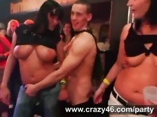 Drunk Girls Fucked at CFNM Party