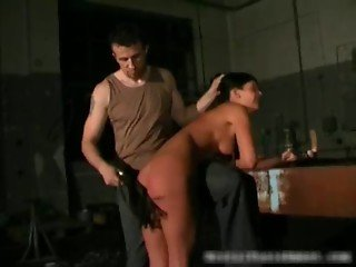 Sun Tanned hot babe getting fetish