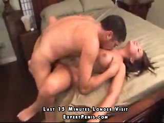 A beautiful woman craves cock in her bedroom
