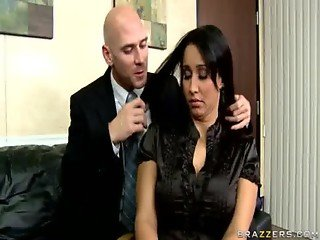 Business Woman Fucks Boss Starring Isis Love from Big Tits at Work - Brazzers